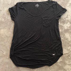 Hollister Pocket V Neck Shirt